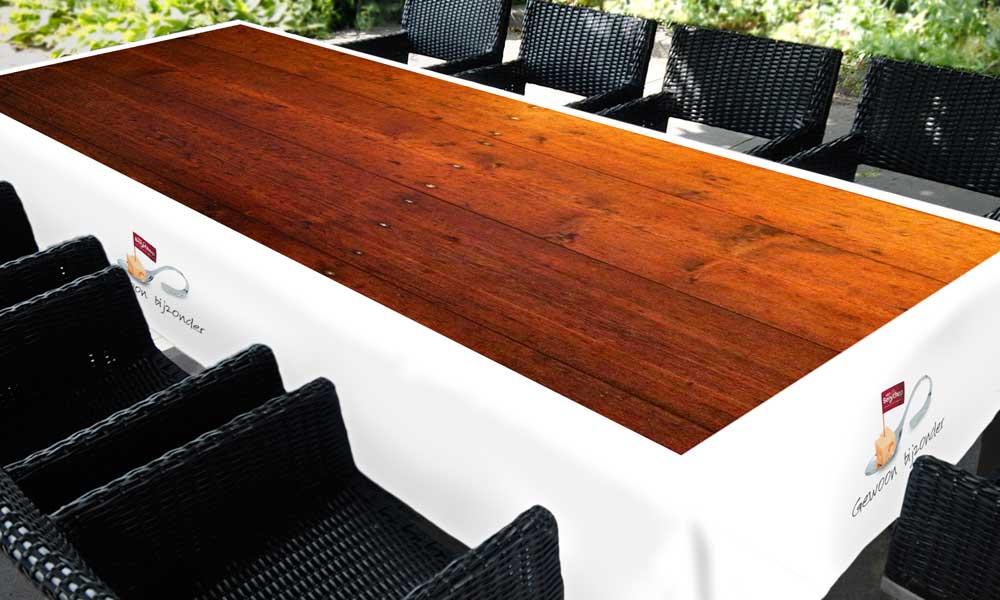 kleed-Houten-tafel